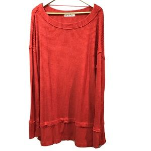 We the free People North Shore thermal tunic Large